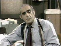 Abe Vigoda playing Fish on Barney Miller