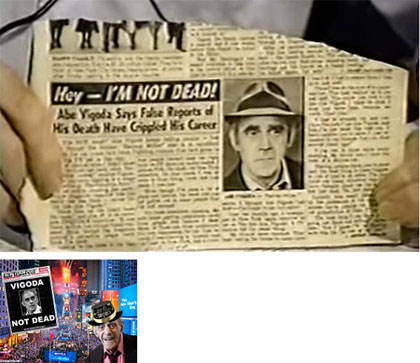 Abe Vigoda false report of his death