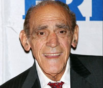 Abe Vigoda near the end of his life