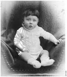 Adolph Hitler baby picture