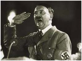 Adolph Hitler as he gained power