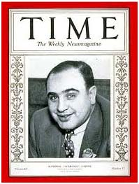 Al Capone on cover of Time Magazine