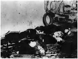St. Valentine's Day massacre in 1929