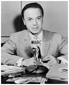Alan Freed working for WABC in New York
