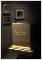 Alan Reed's ashes at the Rock & Roll Hall of Fame