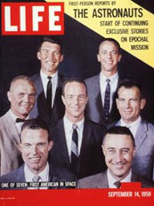 Alan Shepard on cover of LIFE magazine