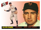 Alvin Dark on the Giants, playing Short Stop