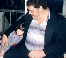 Andre the Giant's daughter