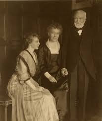 Andrew Carnegie with his family