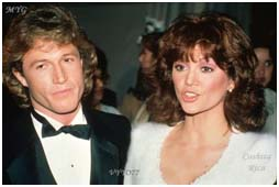 Andy Gibb with Victoria Principal