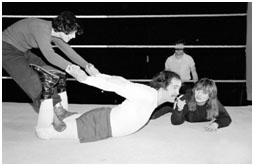 Andy Kaufman wrestling