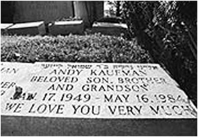 Andy Kaufman grave