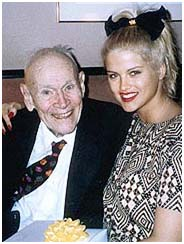 J. Howard Marshall with Anna Nicole Smith