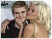 Anna Nicole Smith with son, Daniel