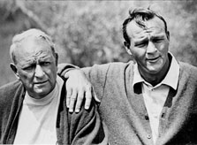 Arnold Palmer and his father