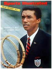 Arthur Ashe on the cover of Sports Illustrated
