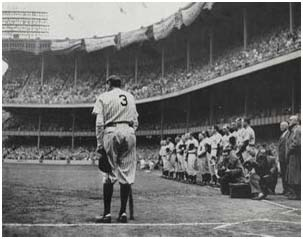 Babe Ruth Final Appearance