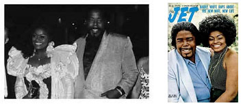 Barry White with Glodean James