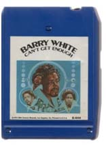 Barry White eight track tape