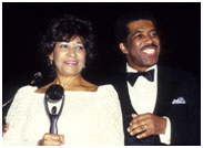 Ben E King with his wife