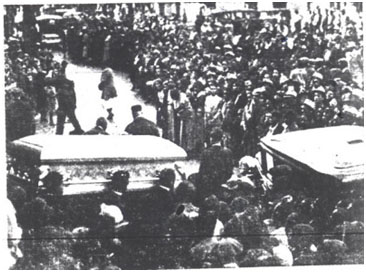 Bessie Smith' funeral