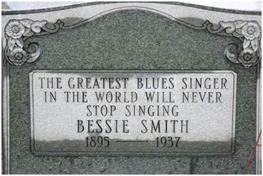 Bessie Smith grave