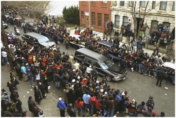 Biggie Smalls funeral