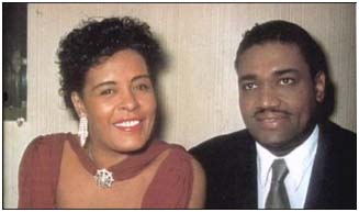Billie Holiday with Louis McKay