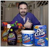Billy Mays pitching products on tv
