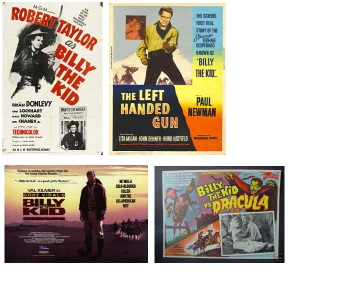 Billy The Kid movies