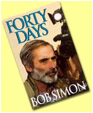 Bob Simon 40 days book cover