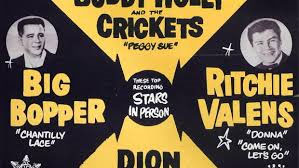Richie Valens and Big Bopper poster