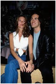 Brandon Lee with Eliza Hutton