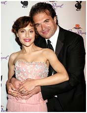 Brittany Murphy with Simon Monjack