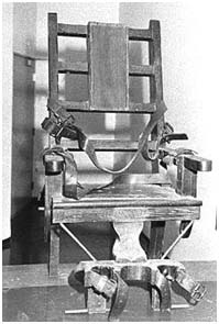 Bruno Hauptmann Electric Chair