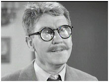 Burgess Meredith in an episode of The Twighlight Zone