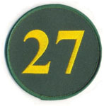 Catfish Hunter number 27 retired by the A's