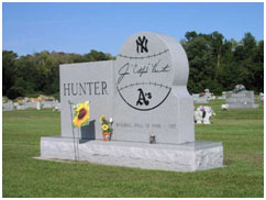 Catfish Hunter grave