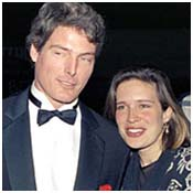 Christopher Reeve with Dana Morosini
