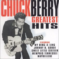 Chuck Berry greatest hits album cover
