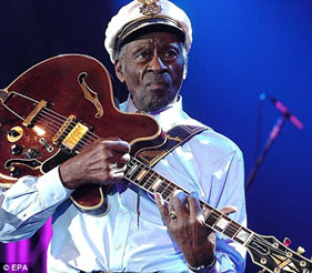 Chuck Berry - later in life