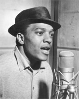 Clyde McPhatter recording