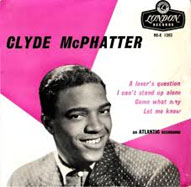 Clyde McPhatter album cover