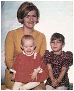 Collette  MacDonald with her two daughters