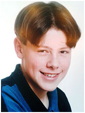 Corey Monteith childhood photo