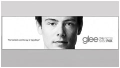 Corey Monteith Glee tribute