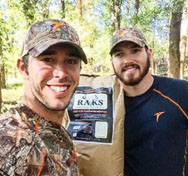 Craig Strickland and Chase Morland