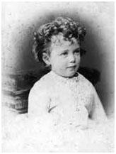 Czar Nicholas II baby photo