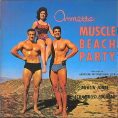 Annette muscle beach party