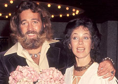 Dan Haggerty and Diane Rooke